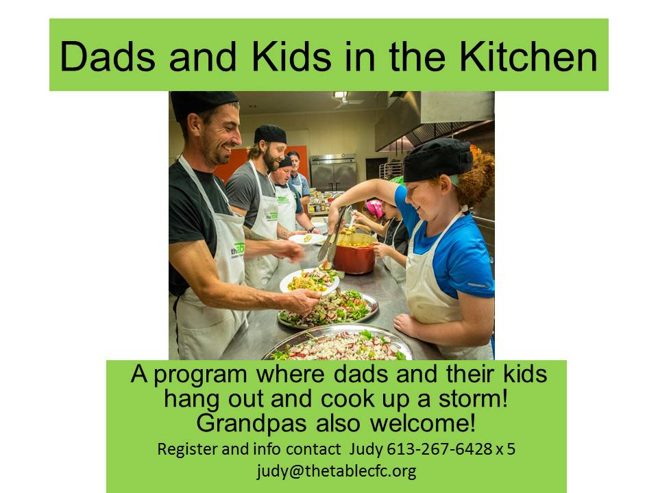 Dads and Kids in the Kitchen