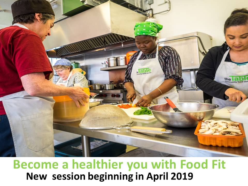 A new session of FoodFit starts in April 2019