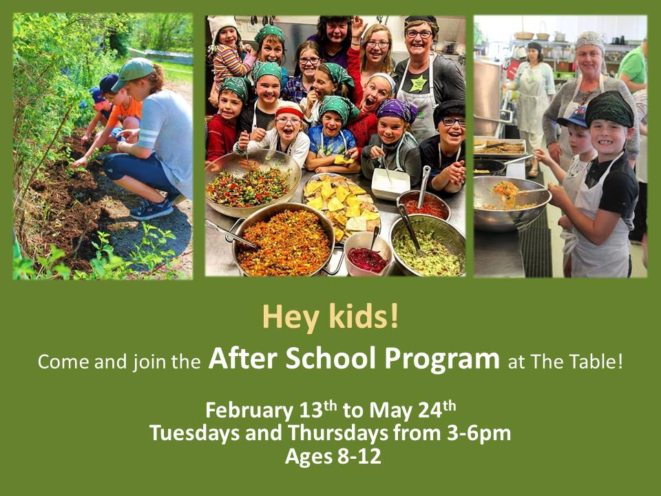 Join the After School Program