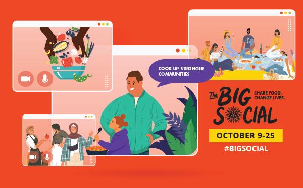 The Big Social: share food, change lives