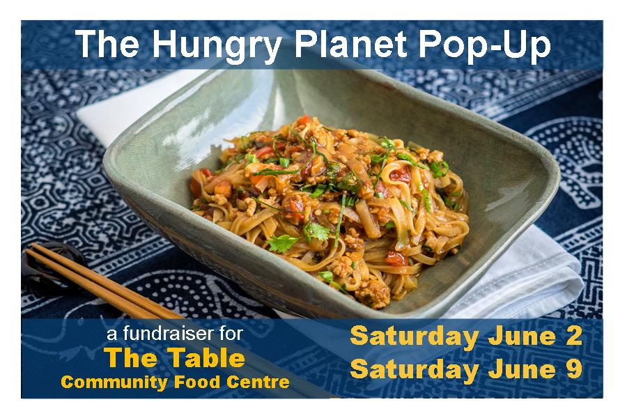 Hungry Planet Pop Up June 2 and 9